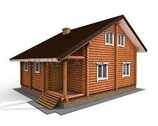 Проект Дом 120 (Уютный дом для постоянного проживания с 4-мя спальнями)