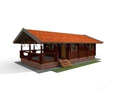 Проект Баня Люкс 53