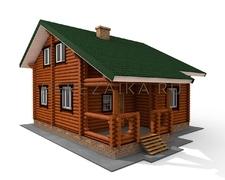Проект Дом 124 (Уютный дом с четырьмя спальнями)