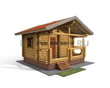 Проект Русская баня 17