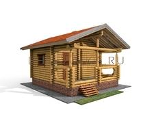 Проект Русская баня 19