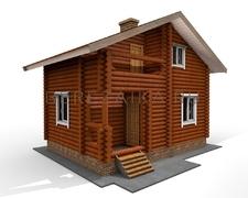 Проект Дачный дом 68
